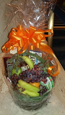 Gourmet Gift Basket  from Mangel Florist, flower shop at the Drake Hotel Chicago