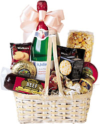Gourmet Basket from Mangel Florist, flower shop at the Drake Hotel Chicago
