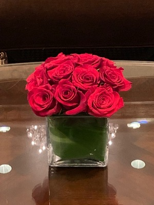 Compact Roses from Mangel Florist, flower shop at the Drake Hotel Chicago