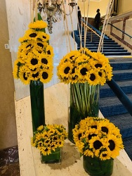 Sunflower Collection  from Mangel Florist, flower shop at the Drake Hotel Chicago