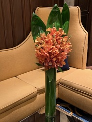 Tall Orchid Arrangement  from Mangel Florist, flower shop at the Drake Hotel Chicago