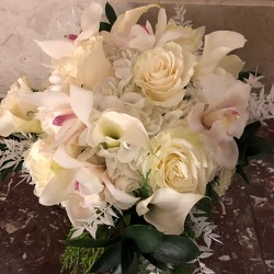 Winter White Arrangement  from Mangel Florist, flower shop at the Drake Hotel Chicago