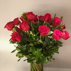 Two Dozen Roses from Mangel Florist, flower shop at the Drake Hotel Chicago