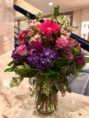 Colorful Mixed Arrangement  from Mangel Florist, flower shop at the Drake Hotel Chicago