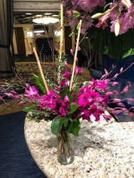Dendrobium Orchid Arrangement  from Mangel Florist, flower shop at the Drake Hotel Chicago