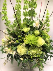 Tall Bells and Branches Arrangement  from Mangel Florist, flower shop at the Drake Hotel Chicago