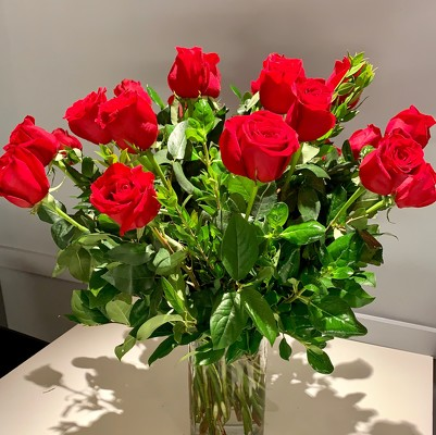 18 Long Stem Roses from Mangel Florist, flower shop at the Drake Hotel Chicago