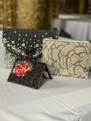 Mary Frances Purse Collection  from Mangel Florist, flower shop at the Drake Hotel Chicago