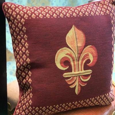 Art de Lys Pillow from Mangel Florist, flower shop at the Drake Hotel Chicago