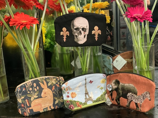 Art de Lys Pouches  from Mangel Florist, flower shop at the Drake Hotel Chicago
