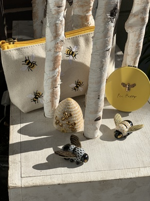 Bee Collection from Mangel Florist, flower shop at the Drake Hotel Chicago